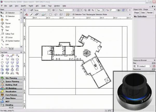 VectorWorks - מפגש משתתפים והדגמה יכולות בתלת-מ