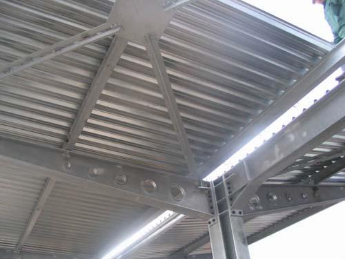 פח פלדה איסכורית טרפזי 5 גלים לגגות