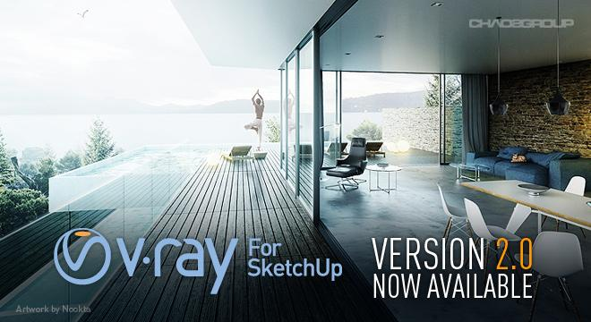 רכישת ויריי V-Ray for SketchUp