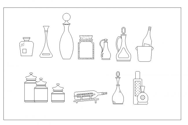 Symbol Alcoholic bottles