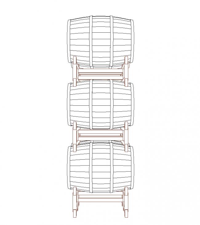 Stand barrels