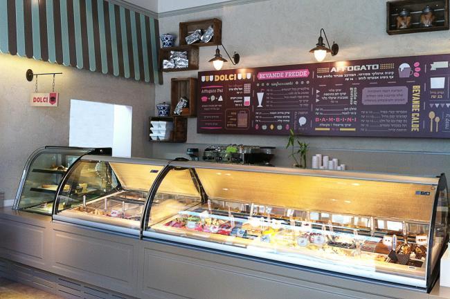 עיצוב בית קפה גלידריה - אפוגטו